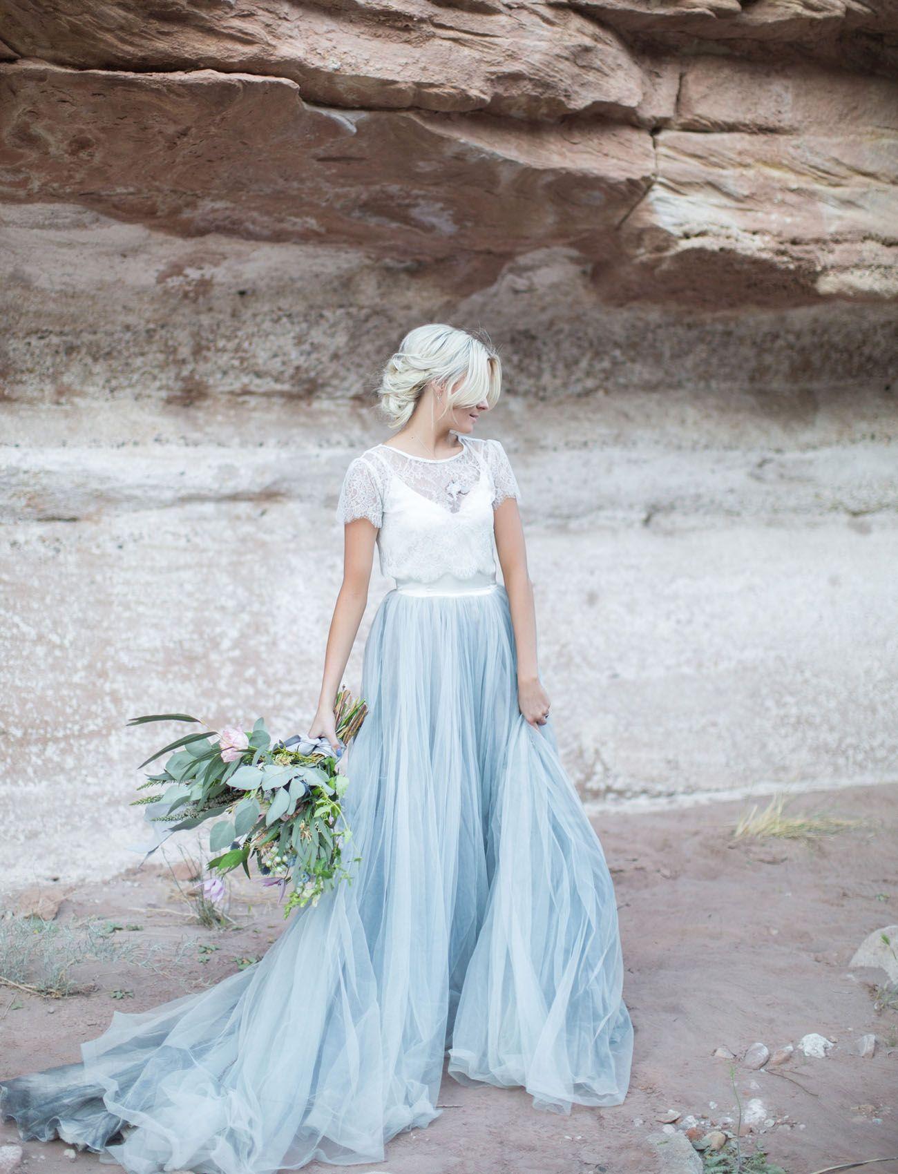 Ungewöhnliche Brautkleider: 14 außergewöhnliche Brautmode-Trends