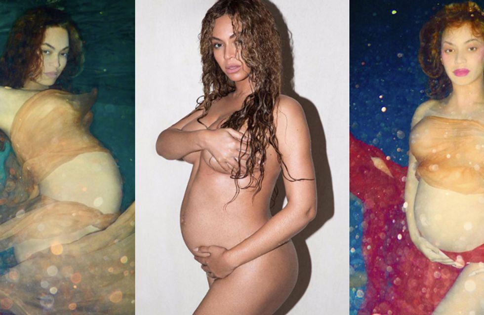 Beyoncé: foto artistiche con pancione per la regina della musica!