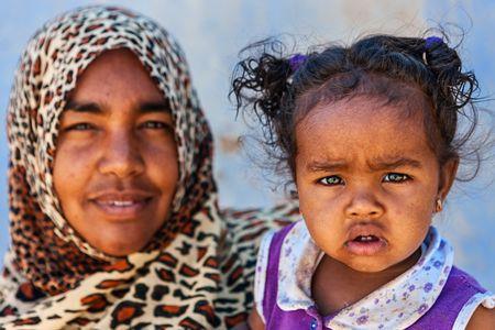 Une maman Malienne et sa fille