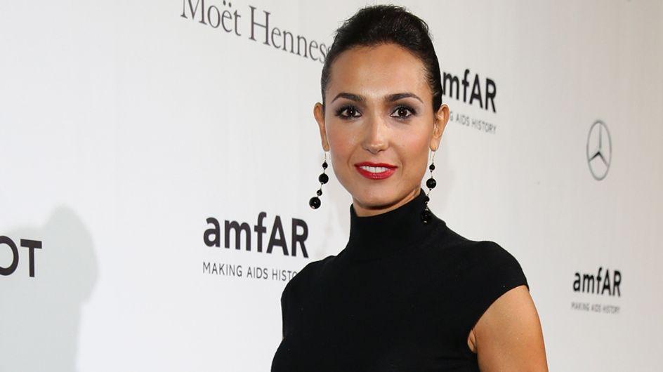 Rossetti scuri: Caterina Balivo sceglie il trend labbra scure per un make-up sensuale e chic