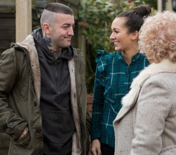 Hollyoaks 13/02 - Bart McQueen Arrives In The Village