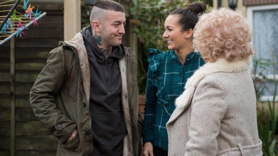 Hollyoaks 13/02 - Bart McQueen Arrives In The Village