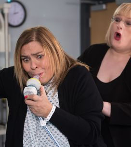 Hollyoaks 15/02 - Myra Is At The Hospital