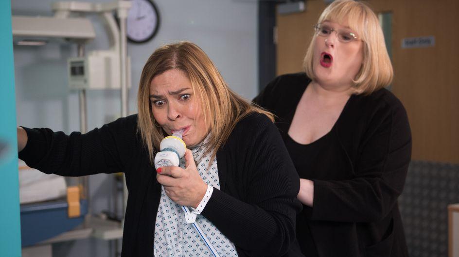 Hollyoaks 15/02 - Myra Is At The Hospital