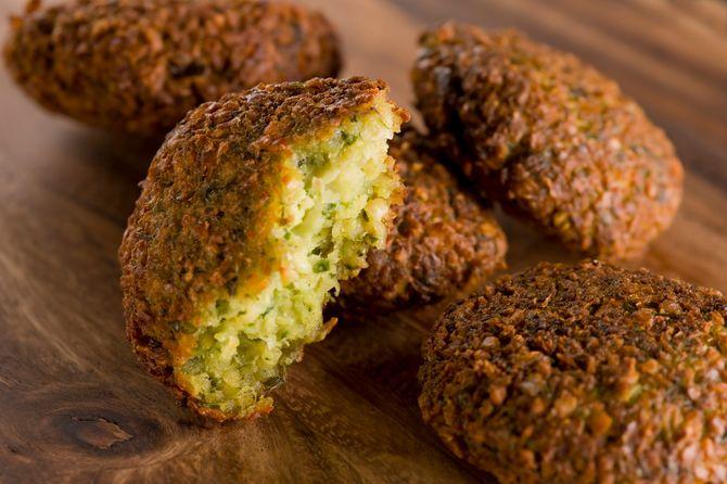 Recette de pois chiche : falafel