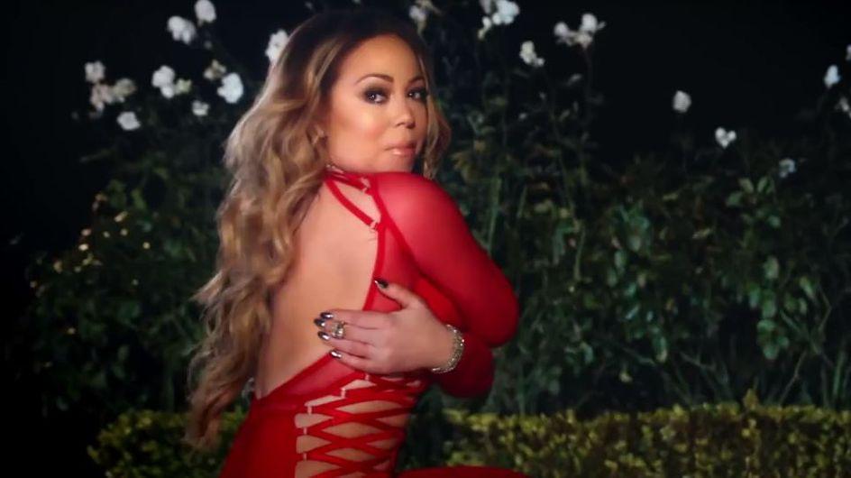 Mariah Carey pète un petit câble et brûle sa robe de mariée dans son dernier clip (Vidéo)