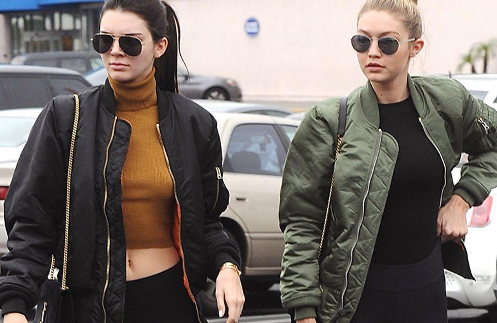 Lleva tu bómber como Gigi Hadid y Kendall Jenner