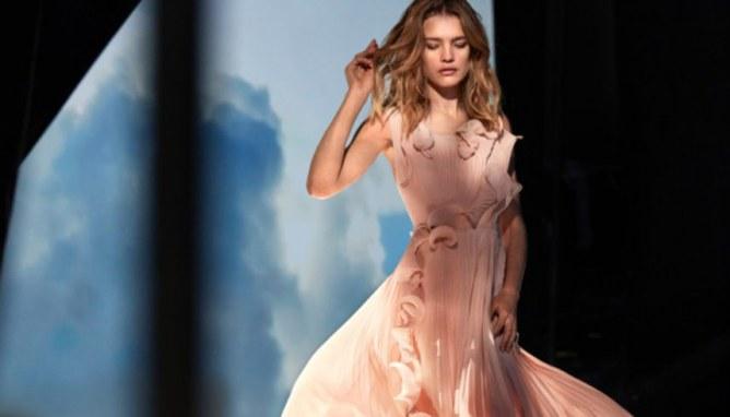 Natalia Vodianova pour Conscious Exclusive H&M