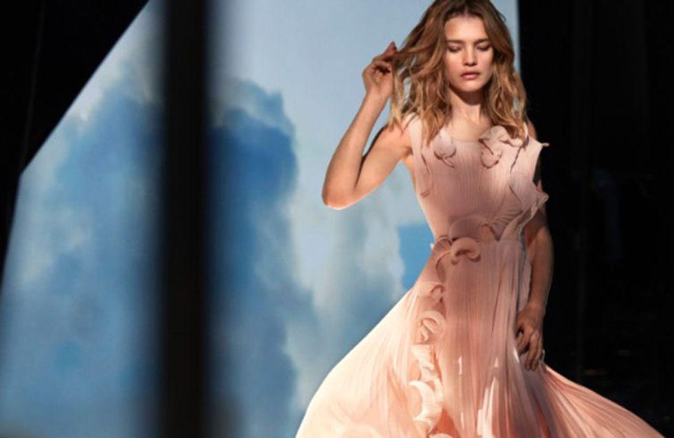 Natalia Vodianova, en robe recyclée à partir de déchets plastiques Conscious Exclusive H&M (Photos)