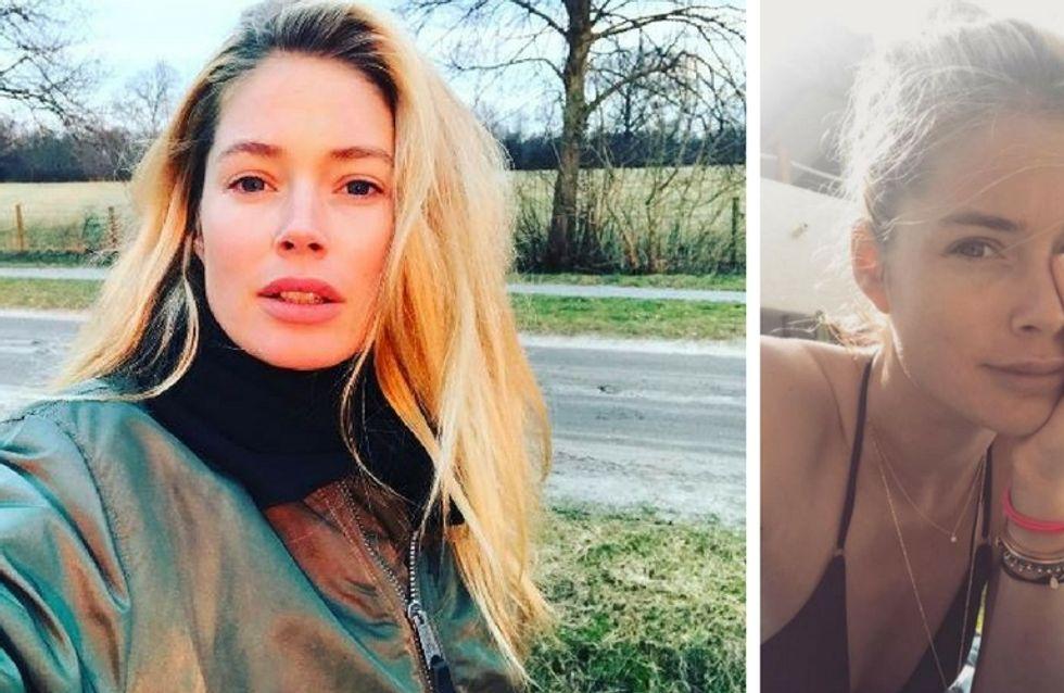 Le top model Doutzen Kroes livre ses secrets pour être belle au naturel