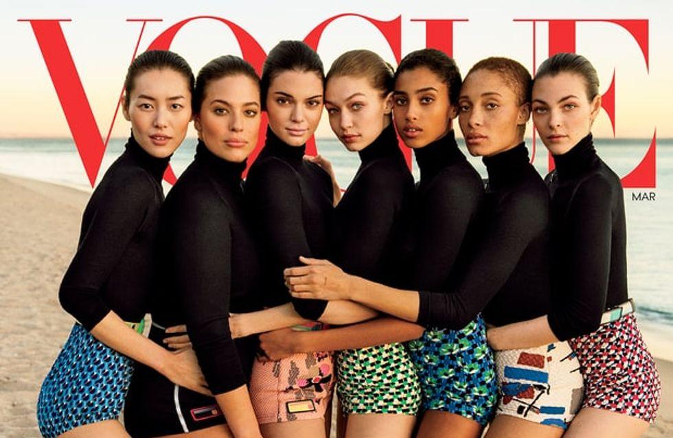 Ashley Graham, en retrait sur la couverture de Vogue US ? (Photos)