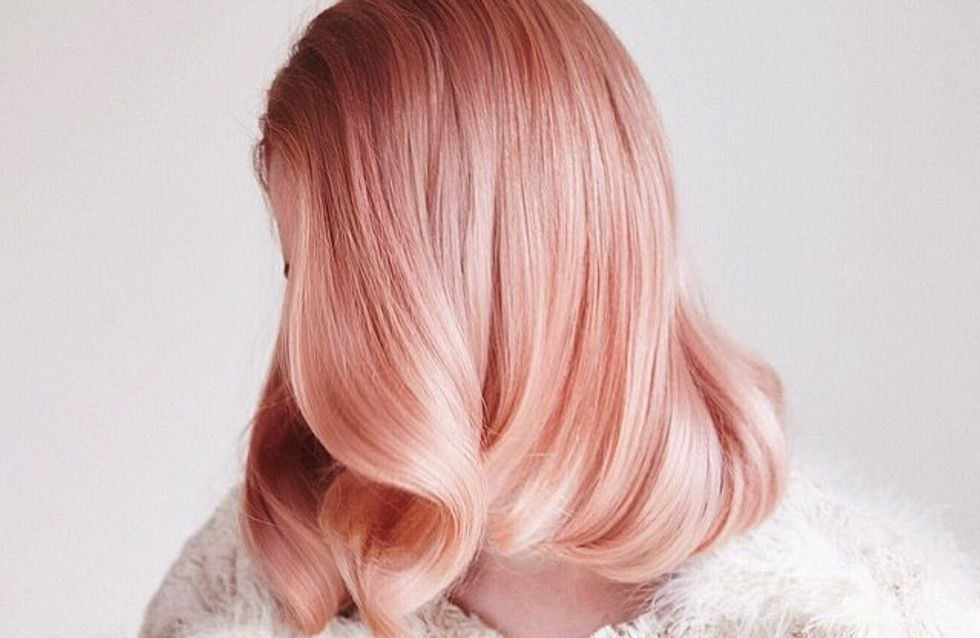 Picture-Proof Rose Gold Is THE Hair Colour Of 2017