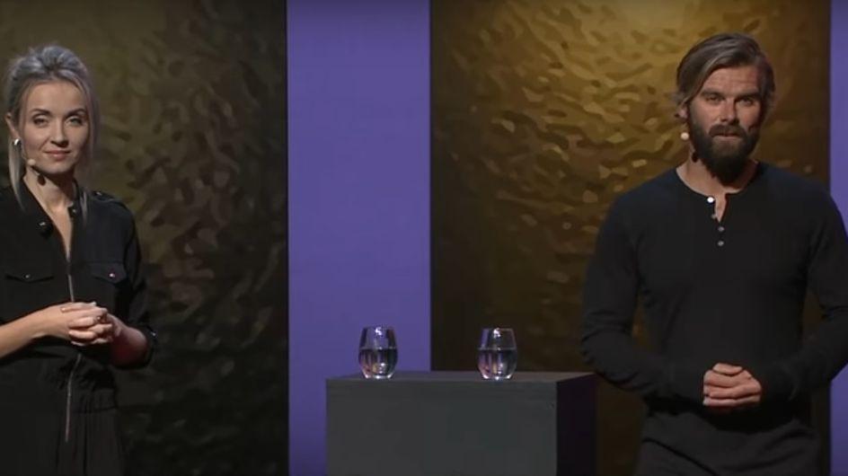 Une victime de viol et son agresseur livrent un discours poignant lors d'une conférence (Vidéo et photos)