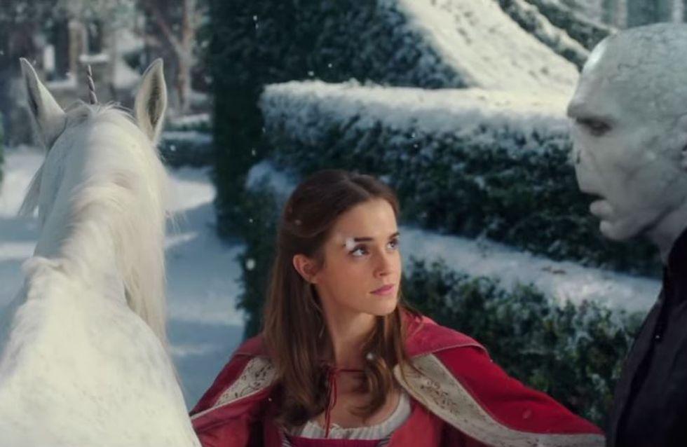 """Voldemort se tape l'incruste dans """"La Belle et la Bête"""" et c'est hilarant ! (Vidéo)"""