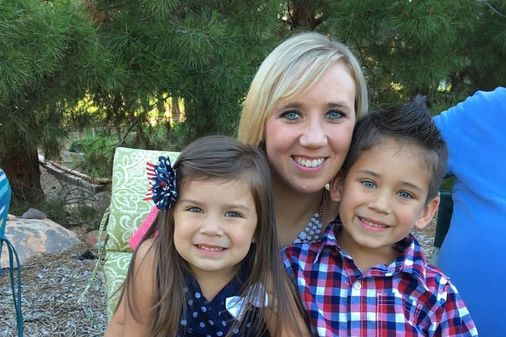Whitney Kittrell et ses enfants