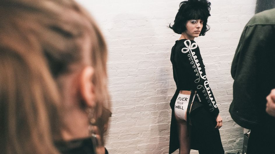 Fashion Week de New York : La mode s'engage en politique (Photos)