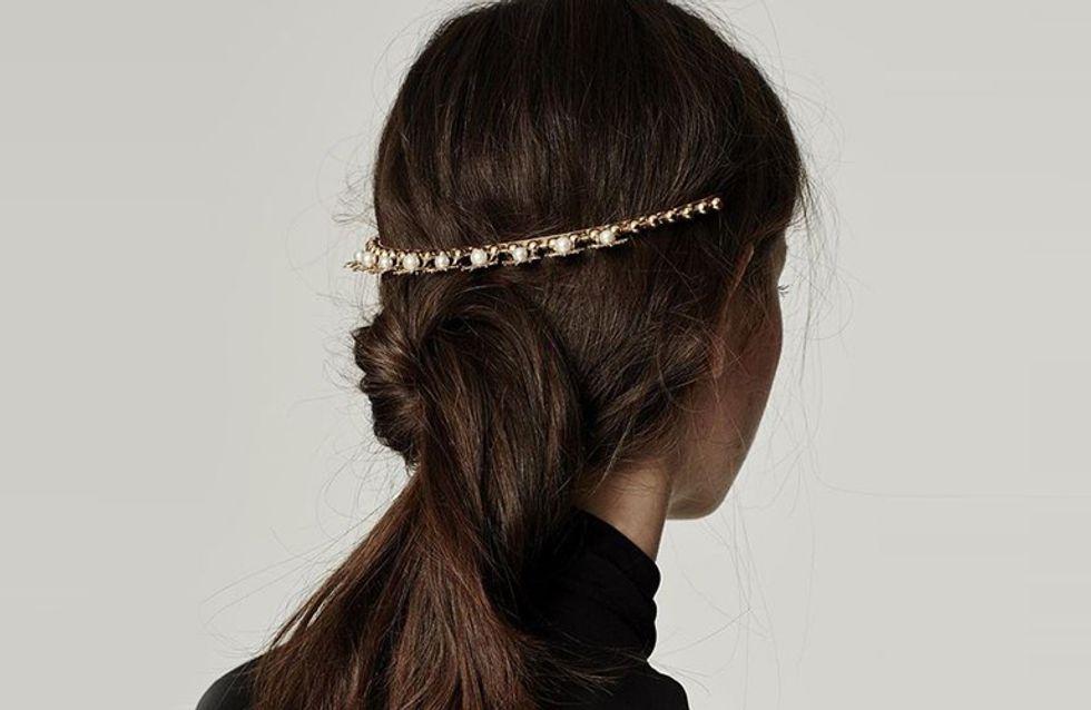 Accesorios de metal para el cabello, ¡descubre los mejores peinados con ellos!