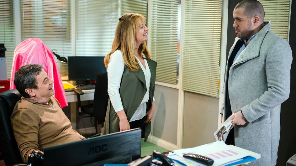 Coronation Street 22/02 - Michelle Tries To Move On