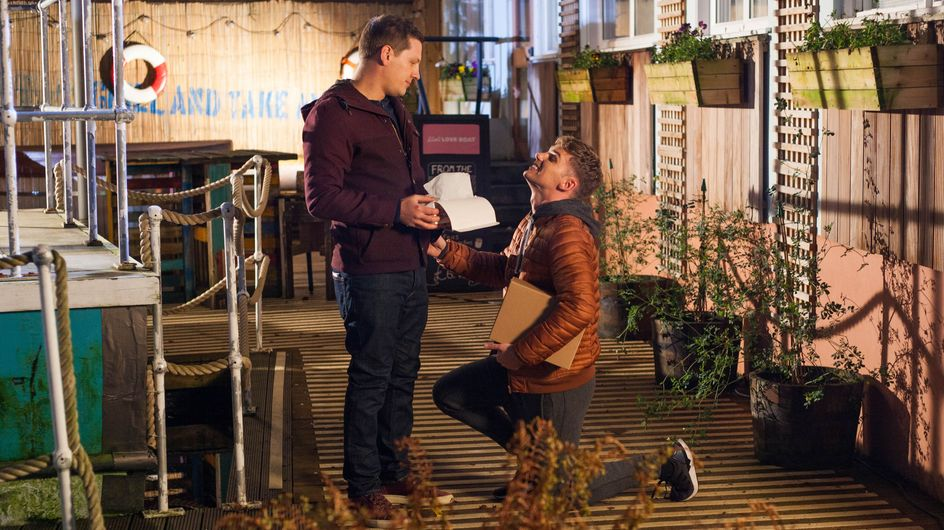 Hollyoaks 20/02 - John Paul Is Stunned When Ste Recreates Their Proposal