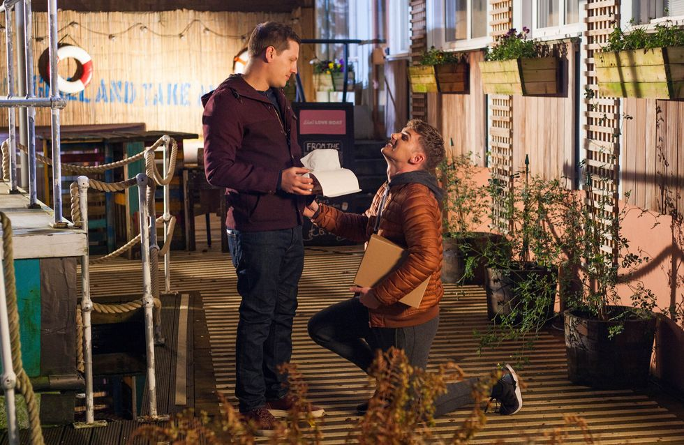 Hollyoaks 20/02 - John Paul Is Stunned When Ste Recreates Their Proposal