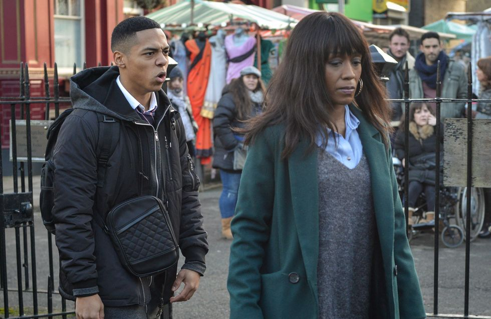 Eastenders 20/02 - Denise Finds Herself In An Argument With Keegan