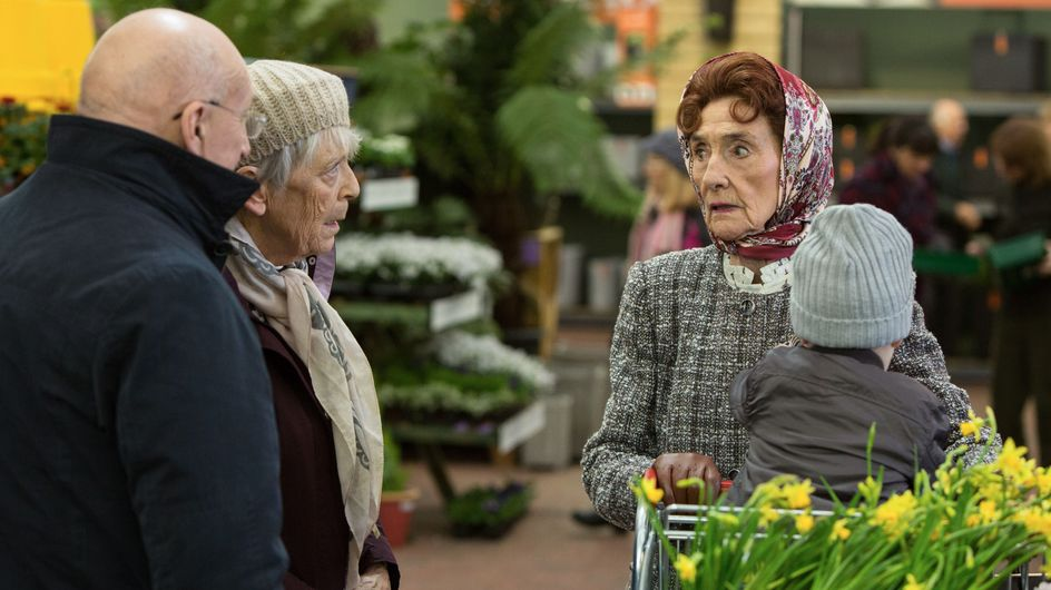 Eastenders 21/02 - Dot Is Left Alone With Matthew