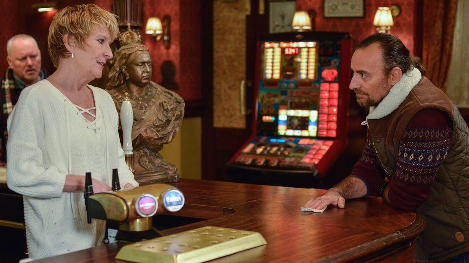 Eastenders 23/02 - Konrad Invites Shirley Out For Dinner