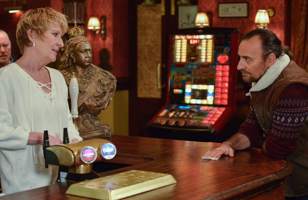 Eastenders 23/02 - Konrad Invites Shirley Out For Dinner