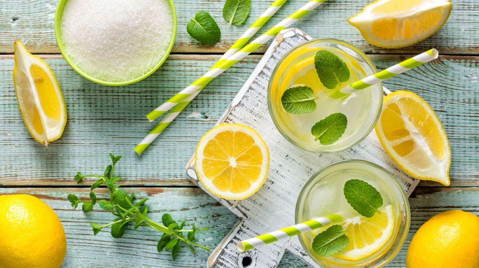 Limonade selber machen: Das sind die 4 leckersten Rezepte!