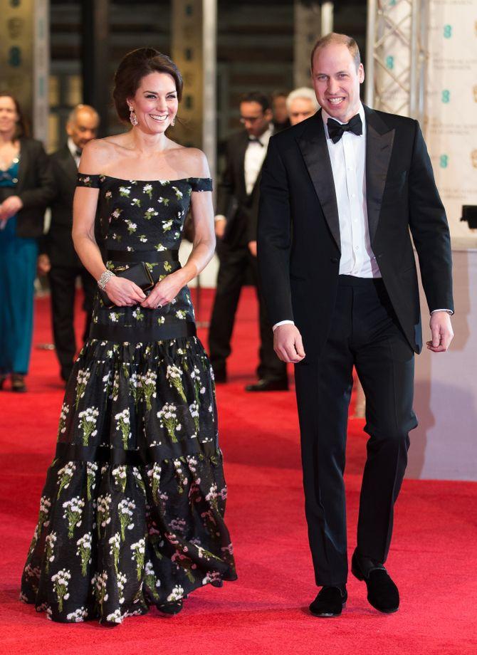 Kate Middleton aux BAFTA Awards 2017