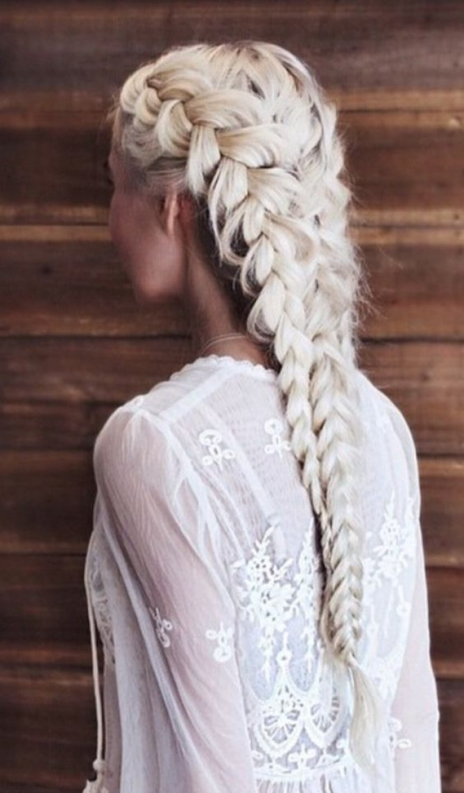 Blonde hairstyles from Pinterest