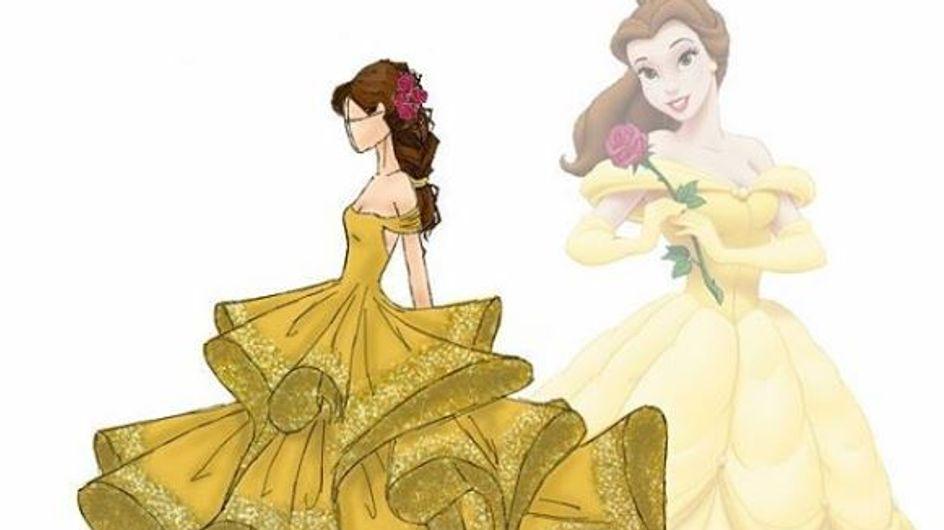 Ce designer remet les robes de princesses Disney au goût du jour (Photos)