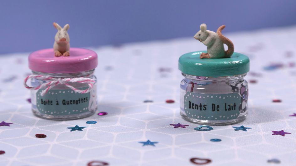 DIY : la jolie petite boîte à dents de lait - Vidéo