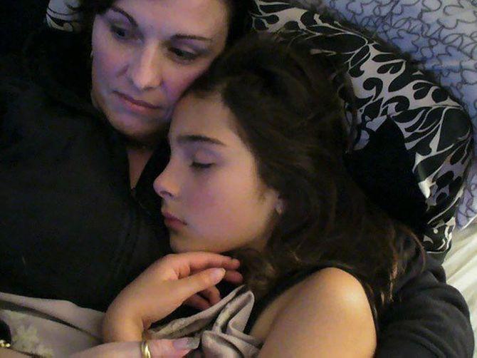 Cassidy Trevan et sa maman Linda