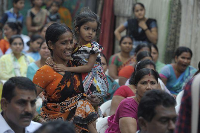 Une maman indienne et sa fille