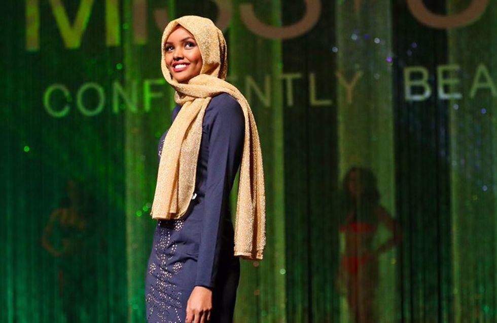 Halima Aden, de refugiada en Kenia a desfilar en la pasarela de Nueva York