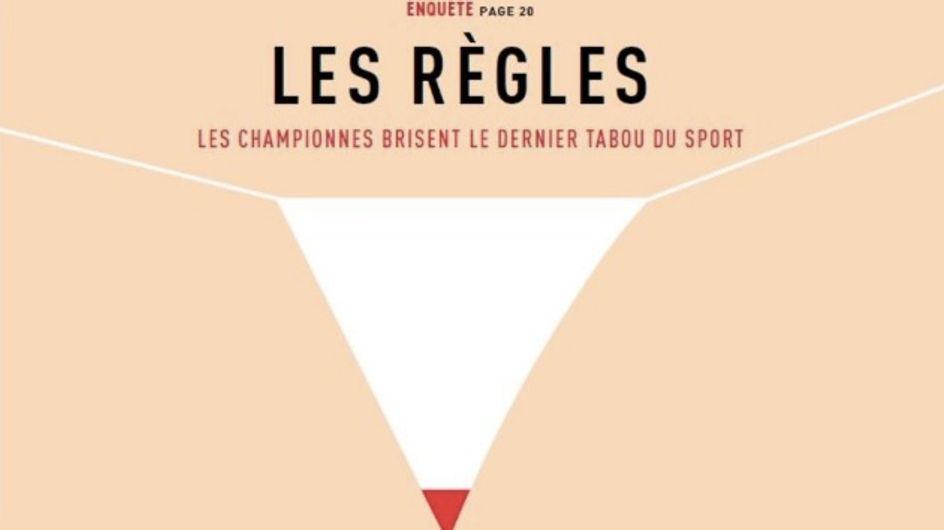 """""""L'Equipe Magazine"""" donne la parole aux sportives afin de briser le tabou des règles"""