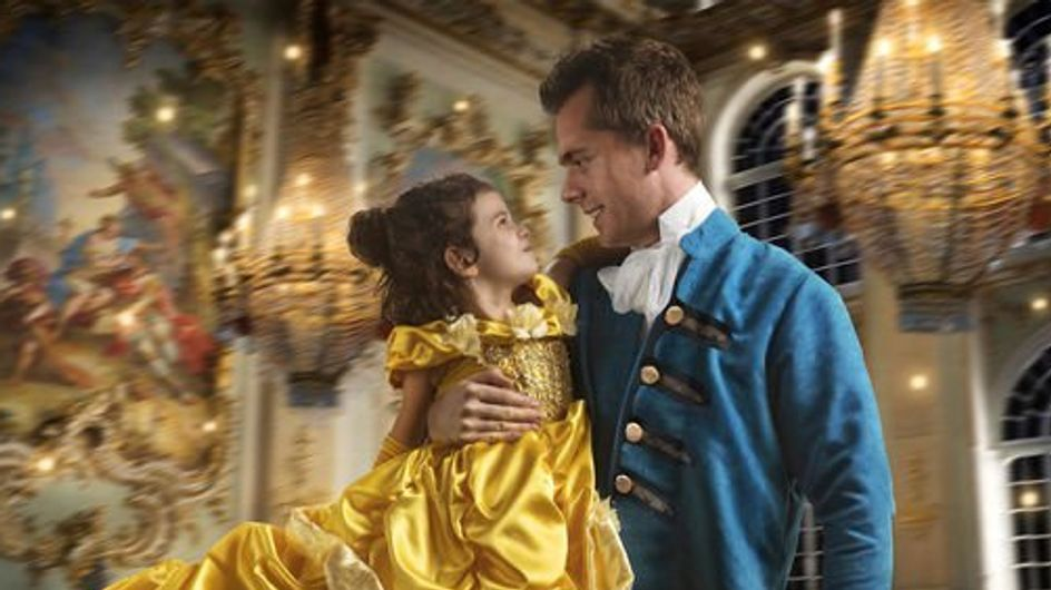 """Ce papa organise un shooting """"La Belle et La Bête"""" pour sa fille et c'est tout simplement magnifique (Photos)"""