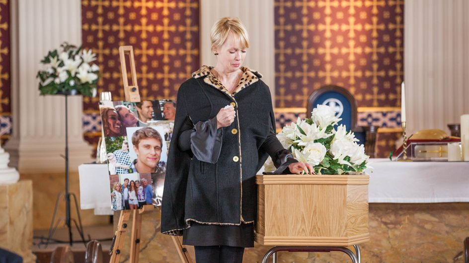 Hollyoaks 27/02 - The Grieving Nightingales Prepare For A Funeral