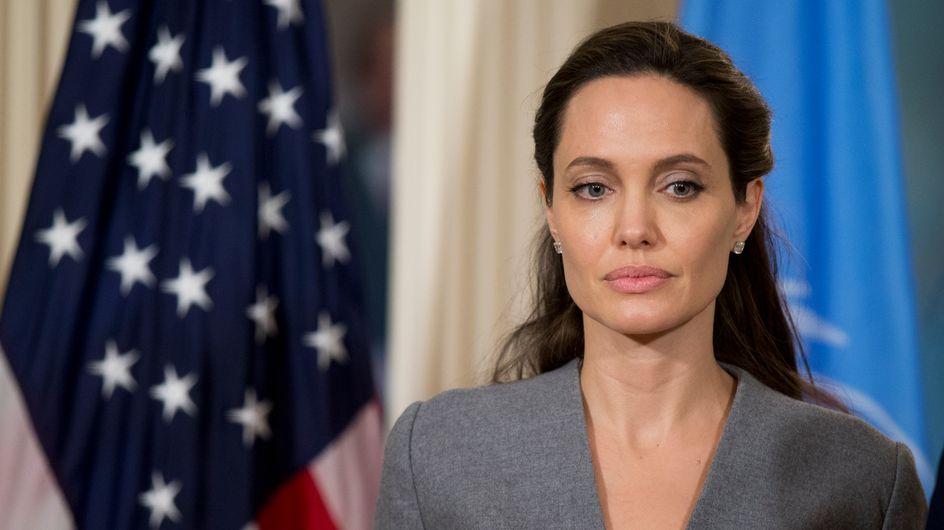 Angelina Jolie habla por primera vez de su divorcio y rompe a llorar