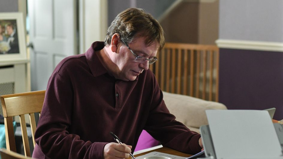 Eastenders 02/03 - Jane Catches Ian Writing His Will