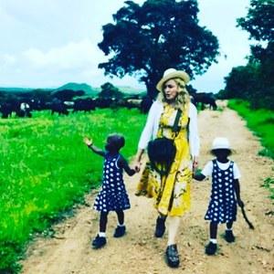 Madonna et ses jumelles