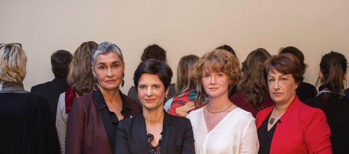 Sandrine Rousseau, Isabelle Attard, Elen Debost et Annie Lahmer