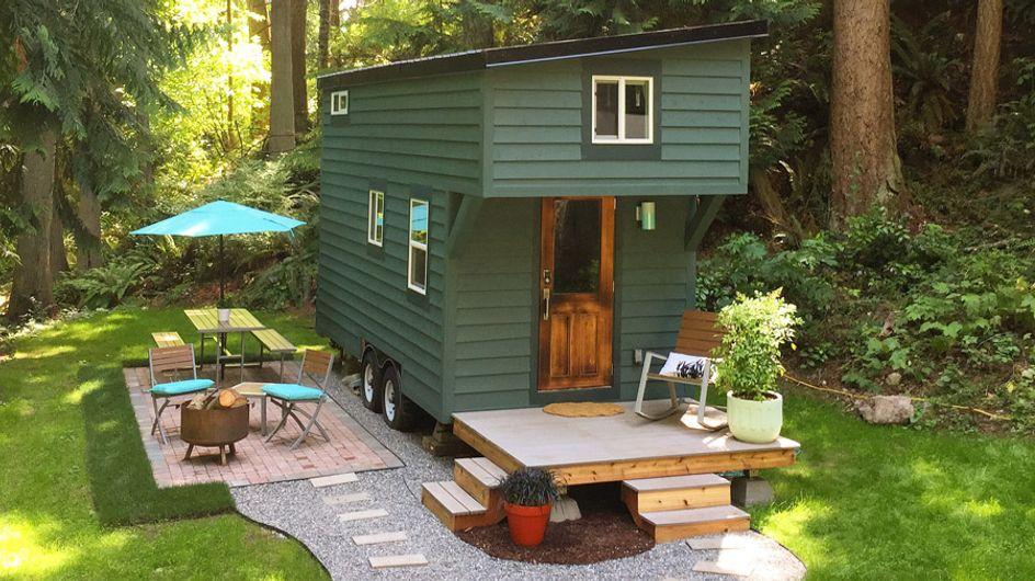 ¡Increíble pero cierto! Dos casas minúsculas que guardan dentro un gran interior