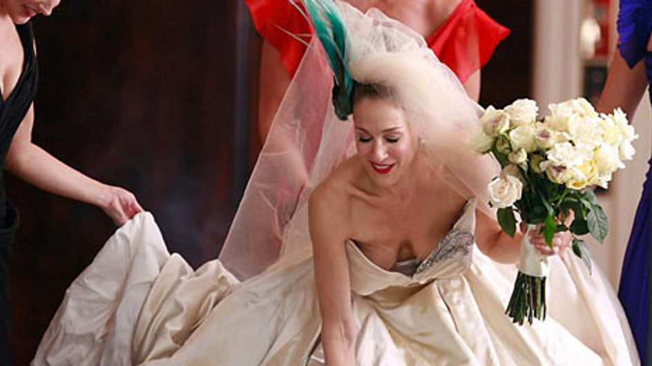 Arrêtez tout : se marier dans l'iconique robe de Carrie Bradshaw est possible (Photos)