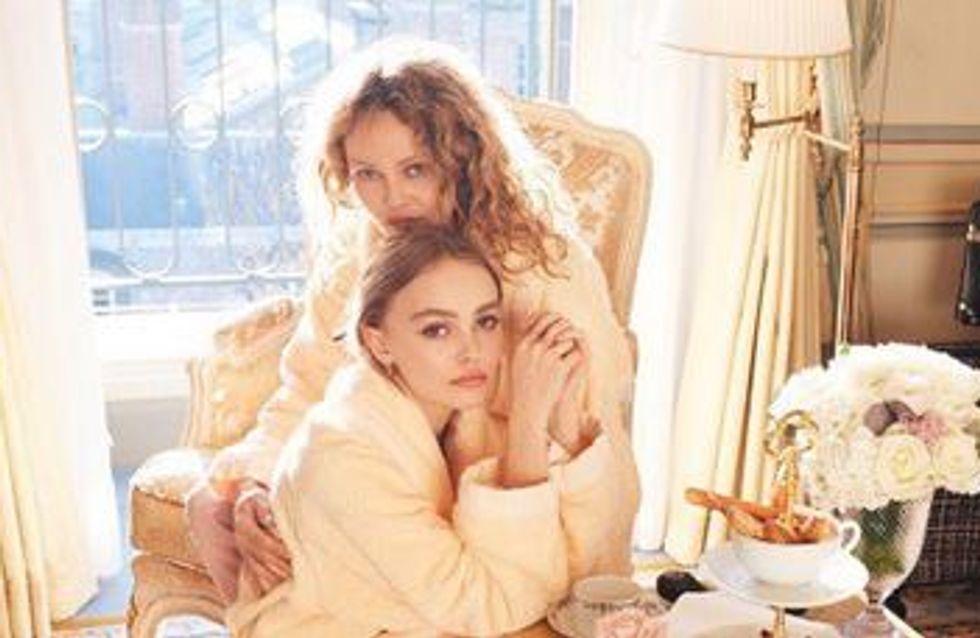 Vanessa Paradis et Lily-Rose Depp posent ensemble en soutien au Planning familial (Photo)