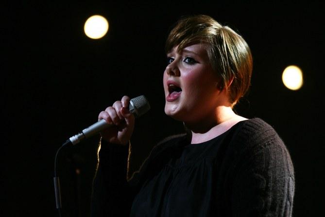 Adele en 2008
