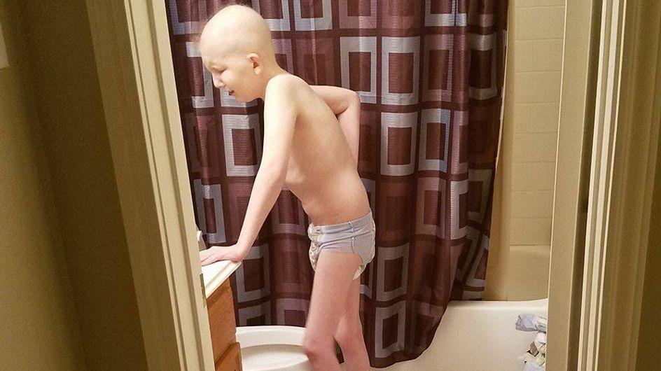 Der Krebs zerstört ihren Sohn: Diese Mutter schockiert mit einem unglaublich ehrlichen Bild