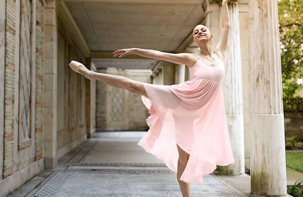 Atteinte d'un cancer en phase terminale, cette ballerine ne s'arrête pas de danser pour autant (Photos)