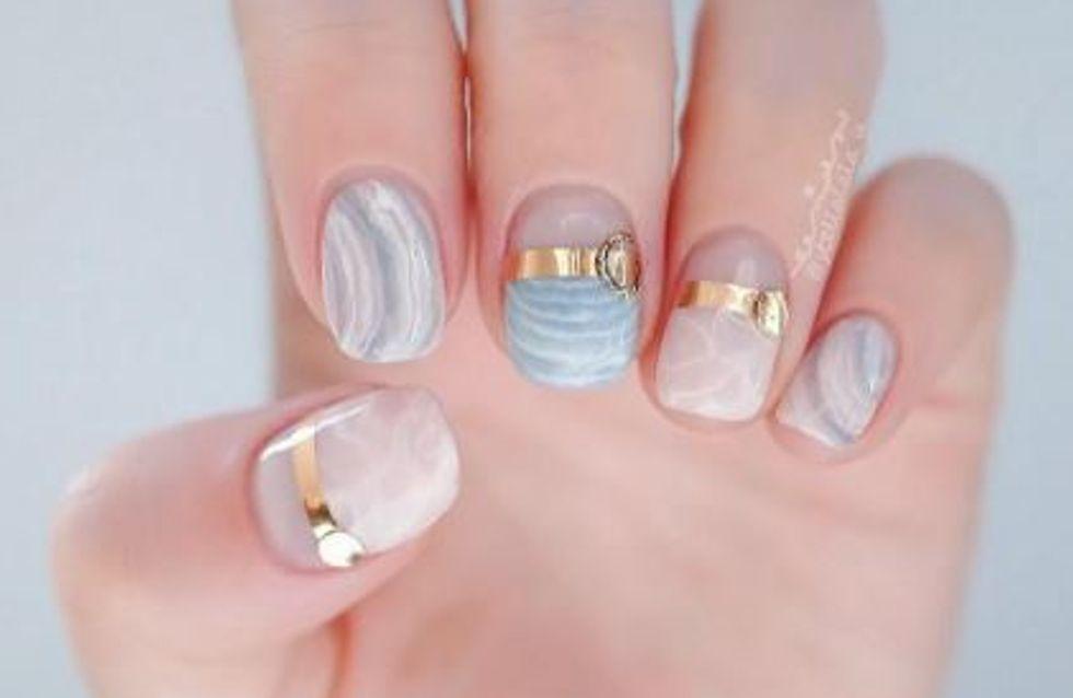 Nail-Trend: Wir sind verliebt in Rosenquarz-Nägel!